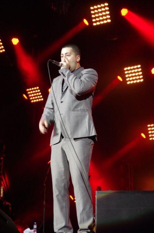 To on rozgrzewał publiczność przed pojawieniem się Bena Drew na scenie fot. Orange