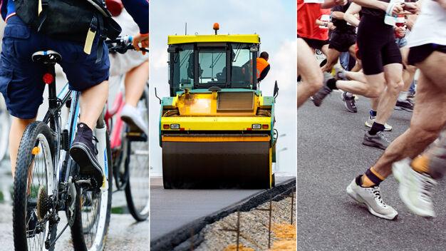 Remont Obozowej, rowerowa pielgrzymka i bieg