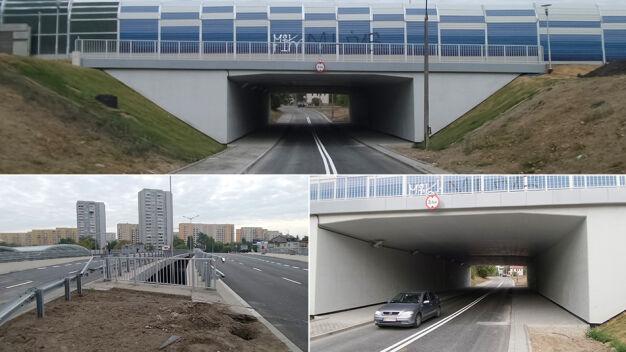 Otworzyli tunel na Gdańskiej i wiadukt na Mickiewicza