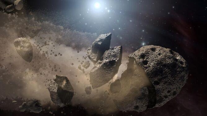 """Asteroida z listy """"potencjalnie niebezpiecznych"""". <br />W grudniu zbliży się do Ziemi"""