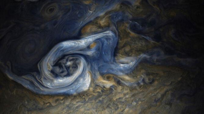Burza na Jowiszu (NASA)