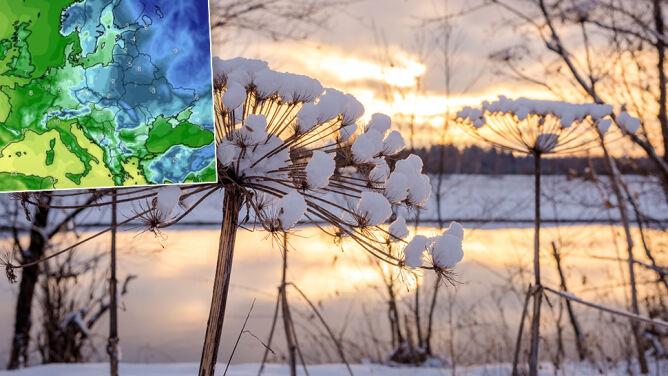 Zima nie mówi ostatniego słowa. Wiry niżowe chcą zaciągnąć do nas mróz znad Arktyki