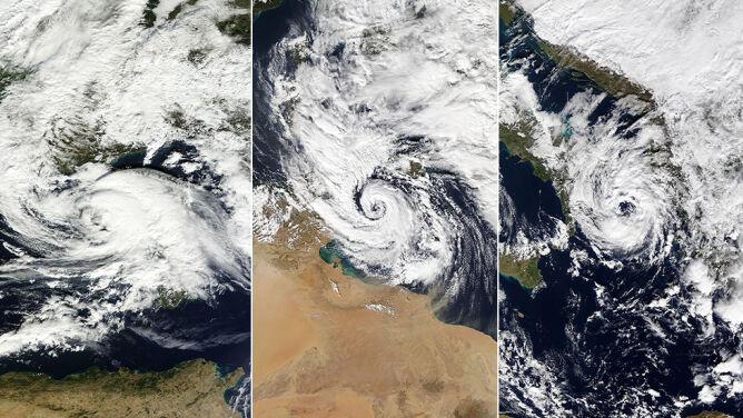 """Niebezpieczne """"medikany"""". <br />Czym są śródziemnomorskie cyklony?"""