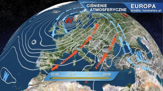 Niż Goran rządzi pogodą w Polsce