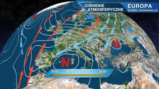 Do Polski płynie arktyczne powietrze