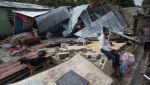 Huragan przeszedł przez Dominikanę (PAP/EPA/ORLANDO BARRIA)