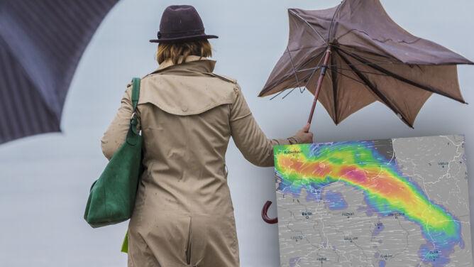 Sporo deszczu i burze, ale na horyzoncie widać ocieplenie