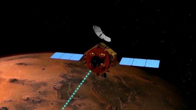 Kolejna bezzałogowa sonda na orbicie Marsa