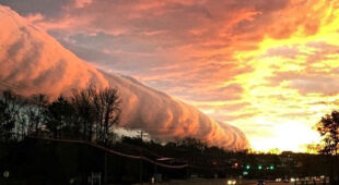 Chmura rotorowa nad Richmond i okolicami