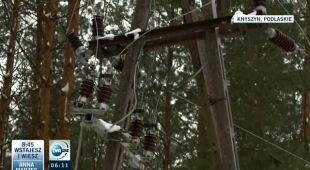 Mazowsze: jeszcze 5 tys. odbiorców bez prądu (TVN24)