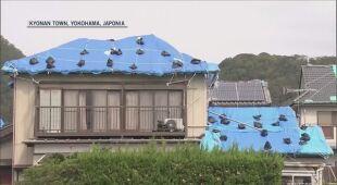 Przygotowania do uderzenia tajfunu